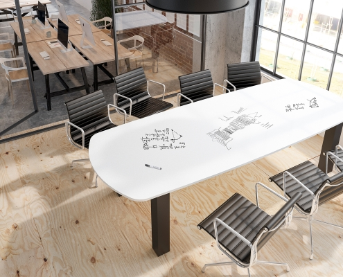 Whiteboard Table Top concept